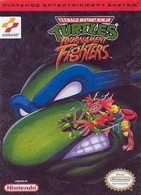 Teenage Mutant - Tournament Fighters NES Nintendo Game