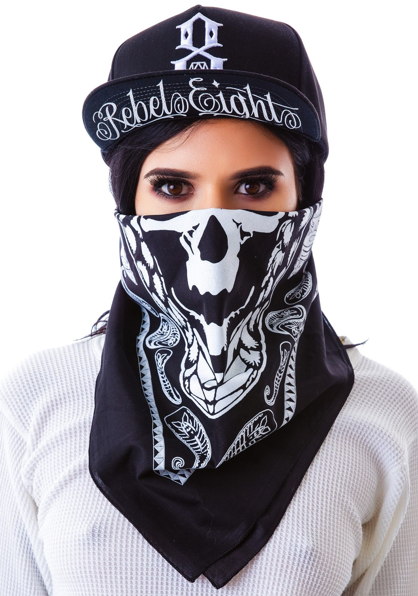 Grinning Skull Bandana | Bandanas, Boy london and Wildfox
