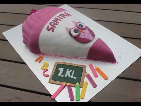 Photo of School Cake – School Bag – Step by Step Instructions / Sally's World