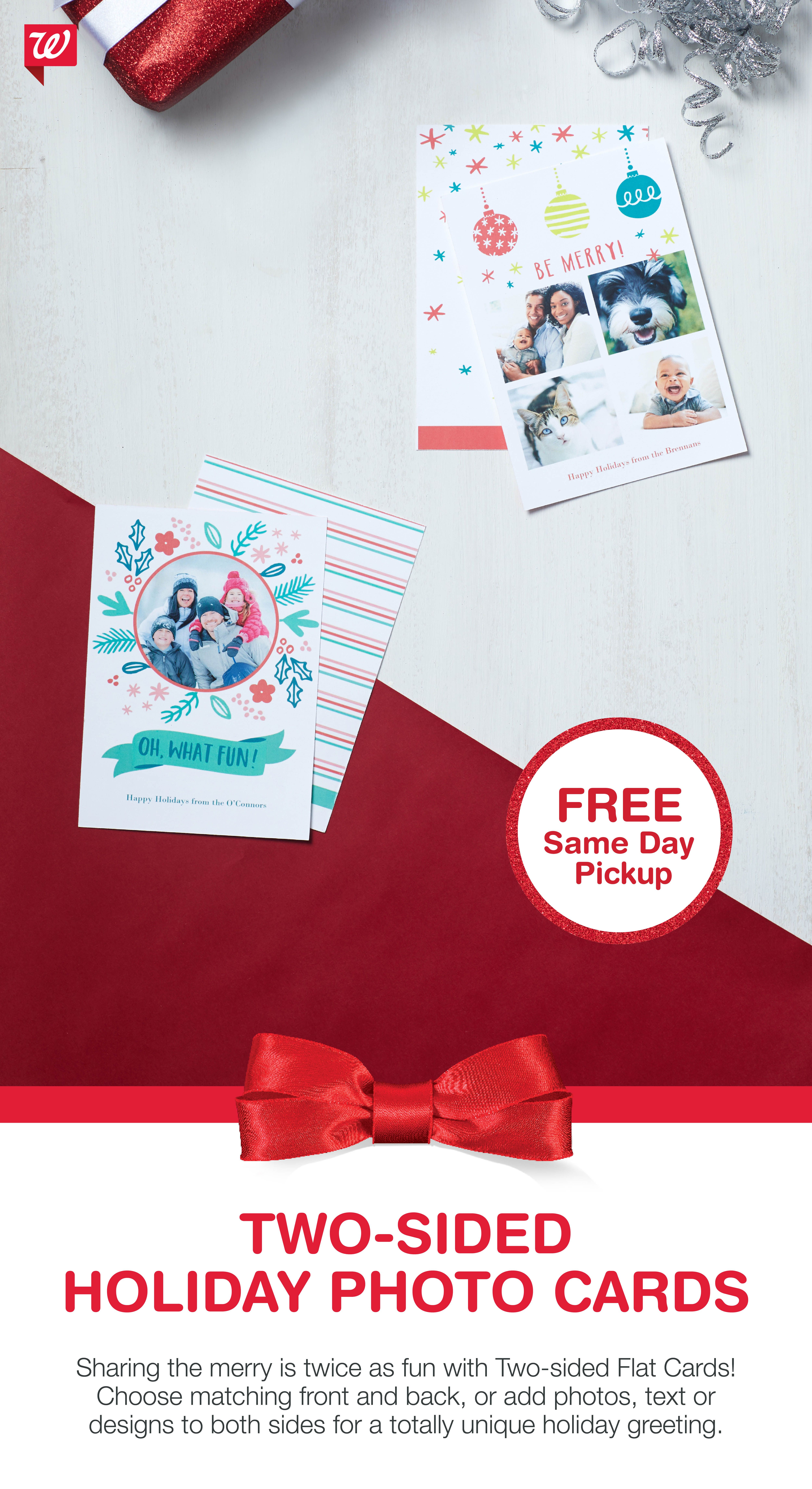 Share The Merry With Two Sided Flat Cards Get It Today With Free