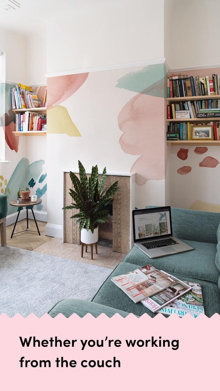 6 Inspiring Home Office Wallpaper Ideas to Suit Yo