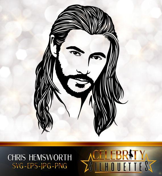 Chris Hemsworth Silhouette Artist Silhouettes Celebrity Etsy In 2020 Silhouette Artist Chris Hemsworth Artist