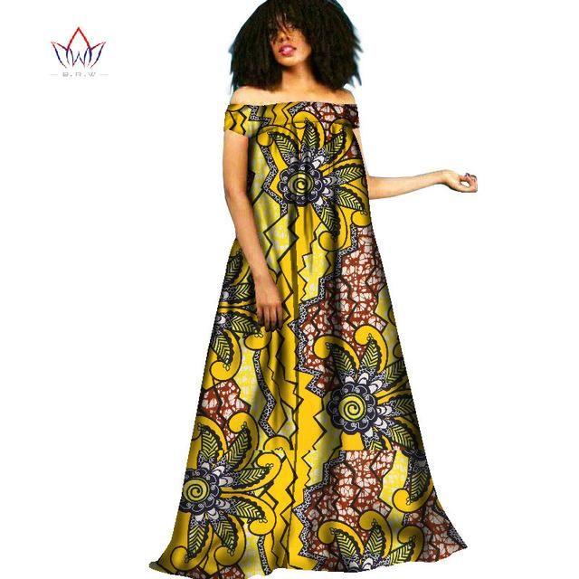 Ankara Maxi Dressafrican Clothing Traditional Dress Ankara Long