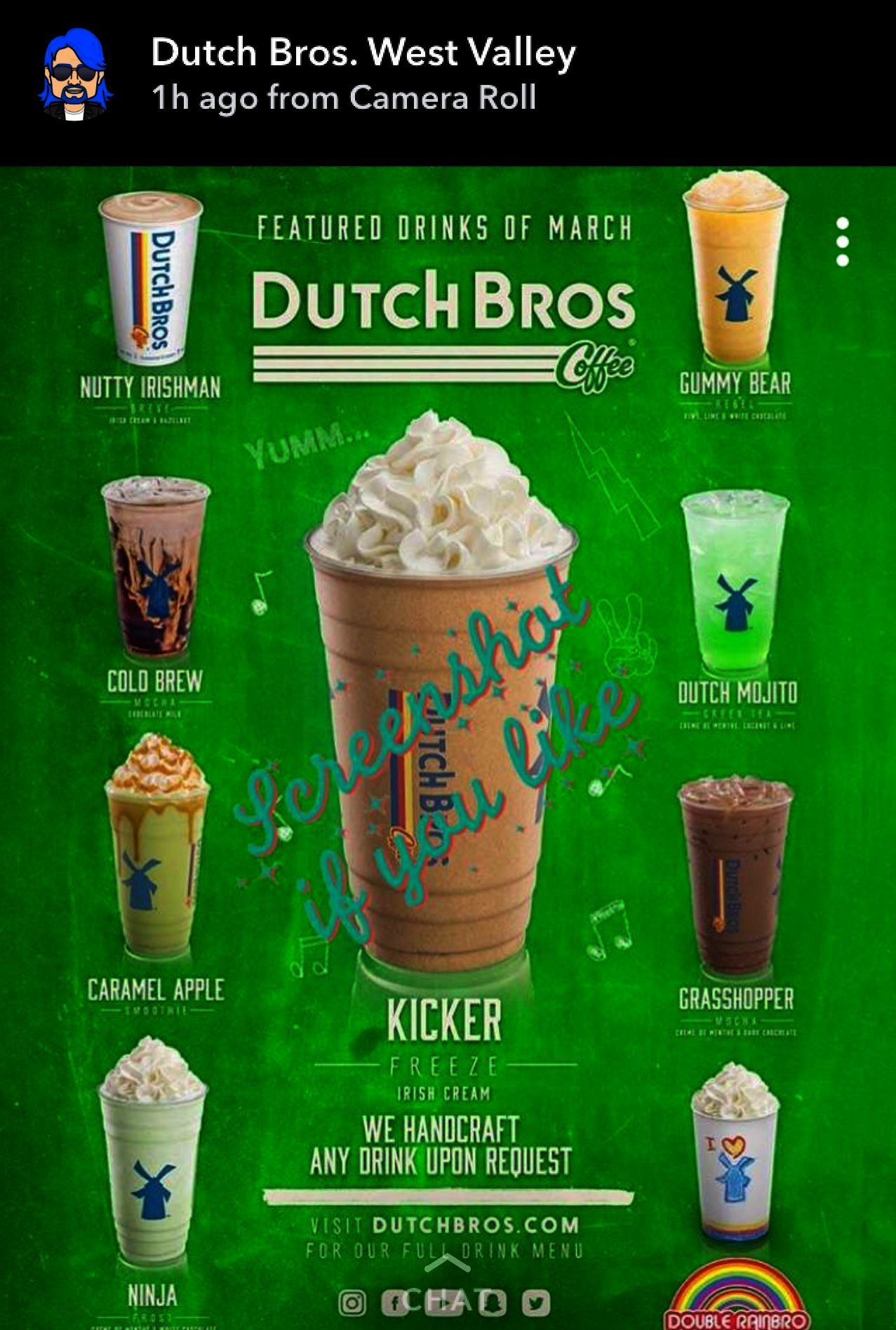 Ground Coffee Storage Container Coffee Beans Bulk Dutch Bros Drinks Dutch Bros Secret Menu Dutch Bros