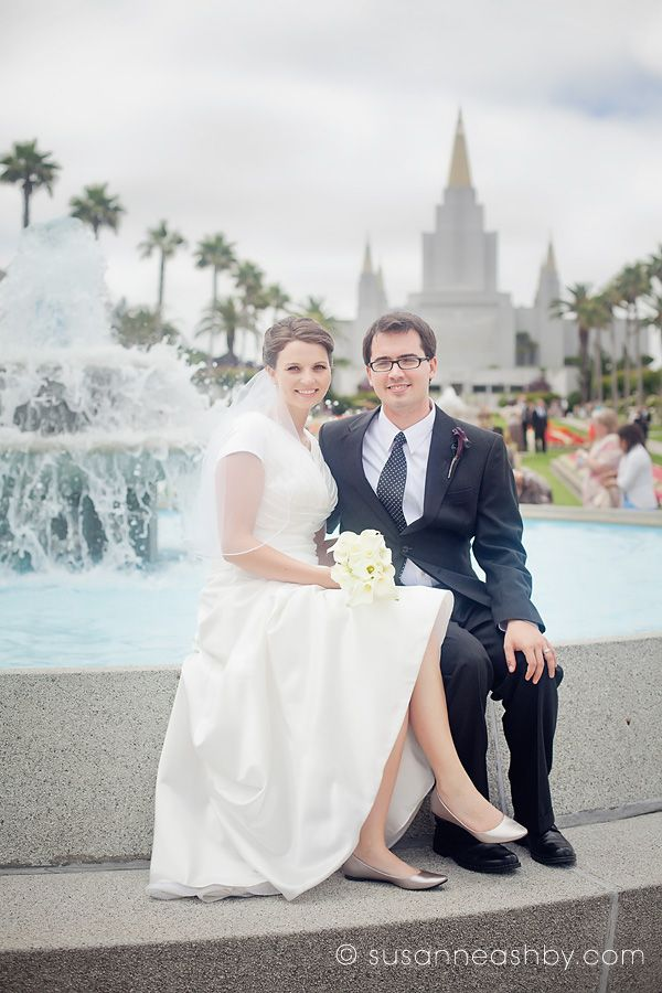 Image gallery lds wedding for Mormon temple wedding dresses