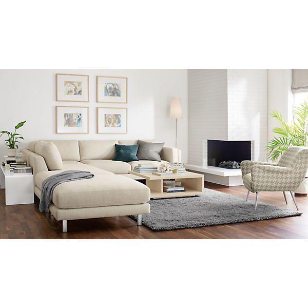 Cade Sectionals Modern Sectionals Modern Living Room Furniture Room Board Modern Furniture Living Room Sectional Custom Sectional #room #and #board #living #room