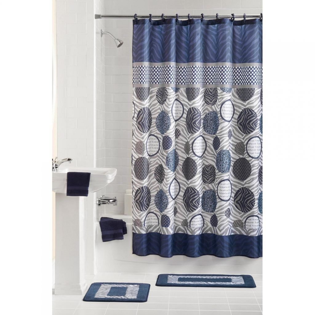 shower curtain and rugs bathroom sets