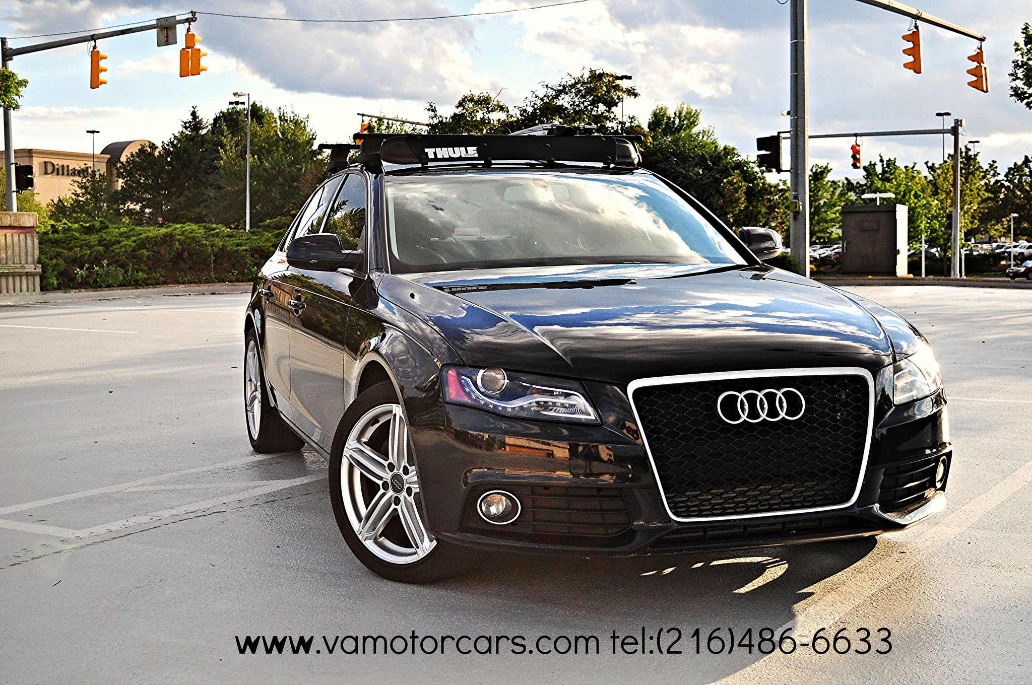 2010 Audi A4 With Thule Roof Rack RS4 Grill #audi #a4 #