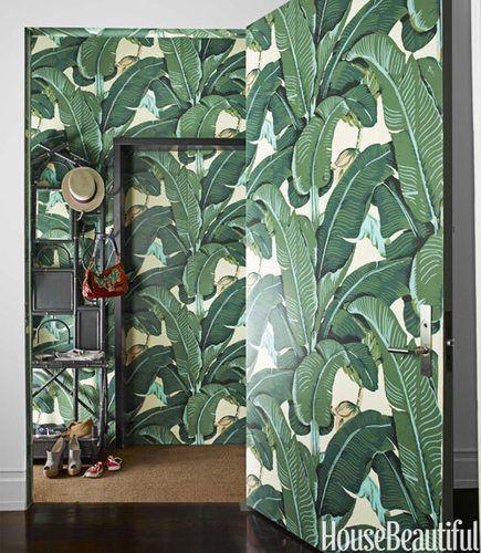 Best Blanche Devereaux S Fancy Bedroom Palm Leaf Wallpaper 640 x 480