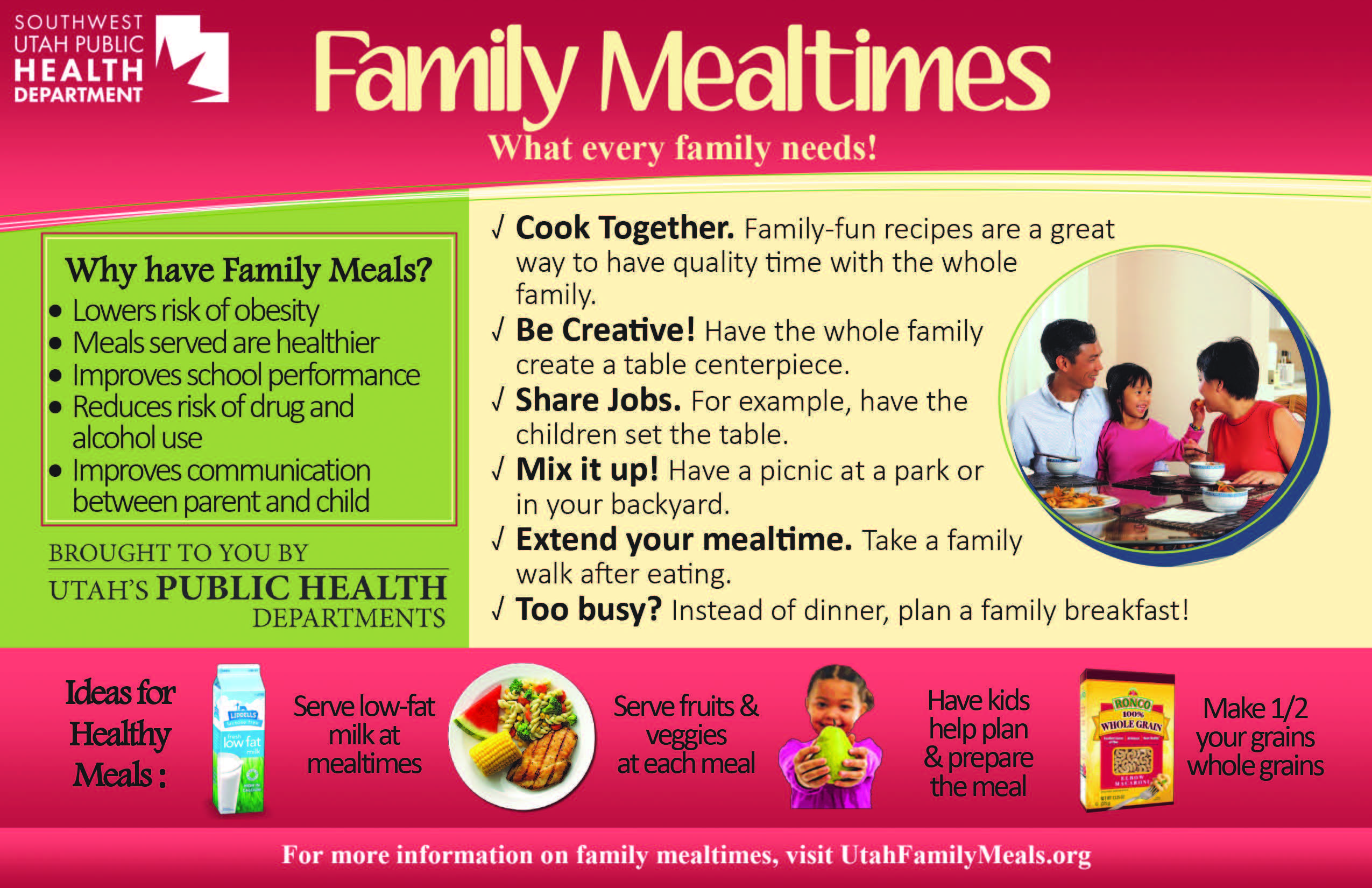 Family Mealtime Ideas Family Mealtime Meal Time Cooking Together