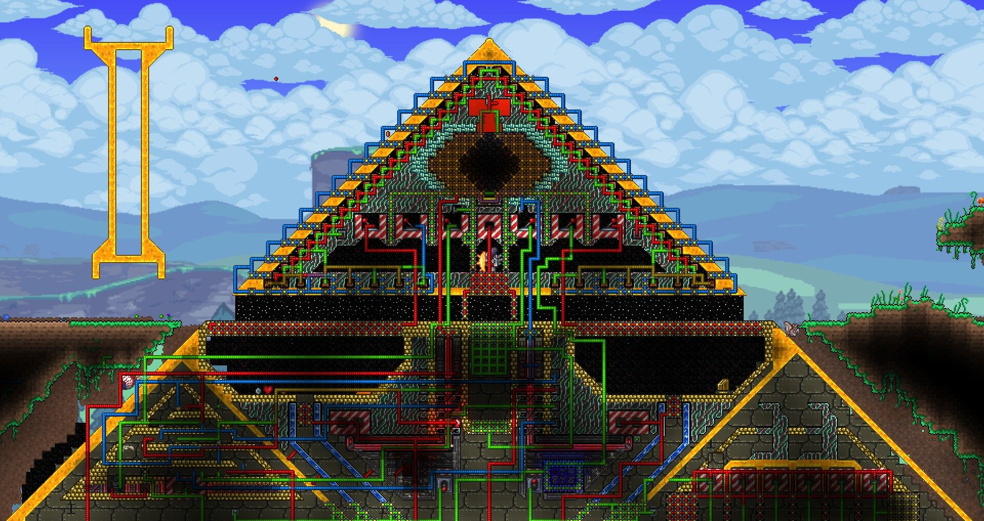 Image result for terraria Pyramids, House styles, Defense