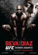 Silva vs Diaz I am pumped for this one.