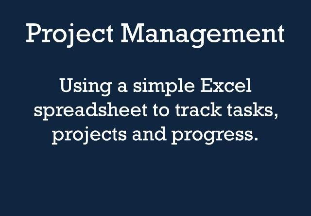 Project Management - Excel Spreadsheet by Thomas MacEntee Our