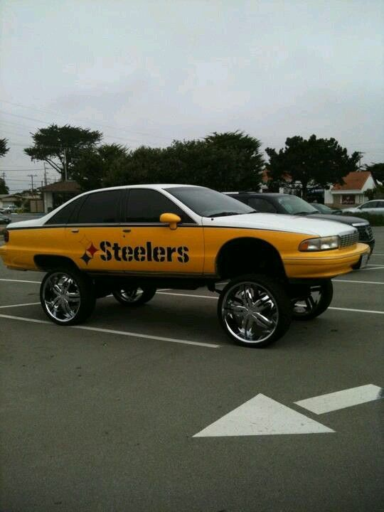 Pimpin steelers style