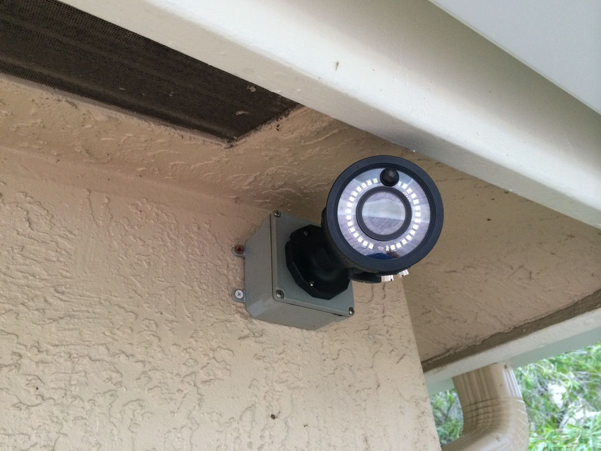 Keep an eye on what goes on in and around your home. Install ...