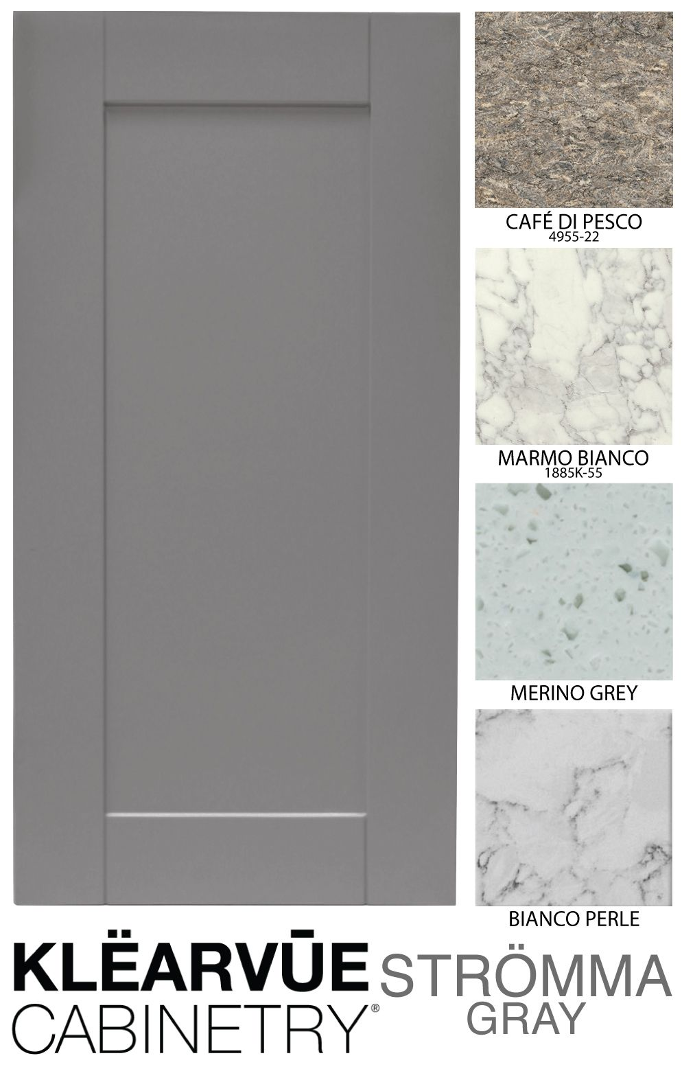 Stromma Gray Cabinets Will Fit With Any Color Pallet In Any Home Menards Kitchen Cabinets Grey Cabinets Grey Countertops