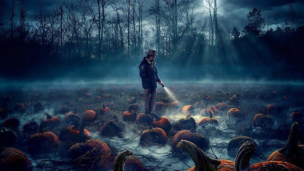 Hd Stranger Things 2 Pumpkin Field Tv Series 1920x1080