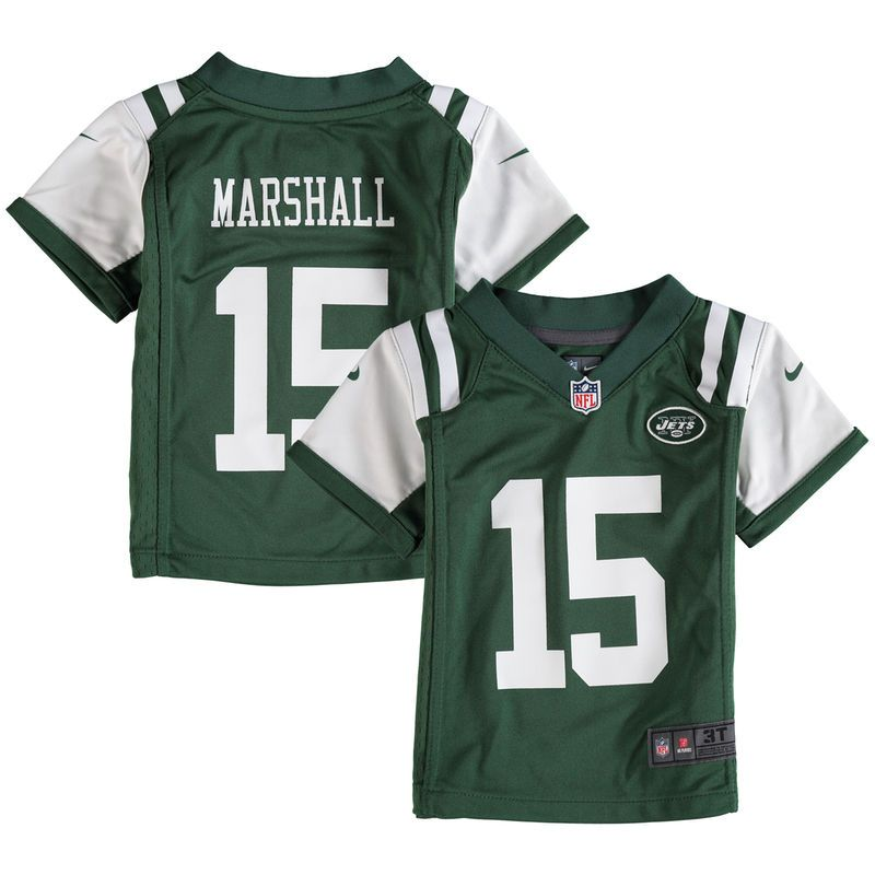 f3a38cec349 Brandon Marshall New York Jets Nike Infant Game Jersey - Green ...