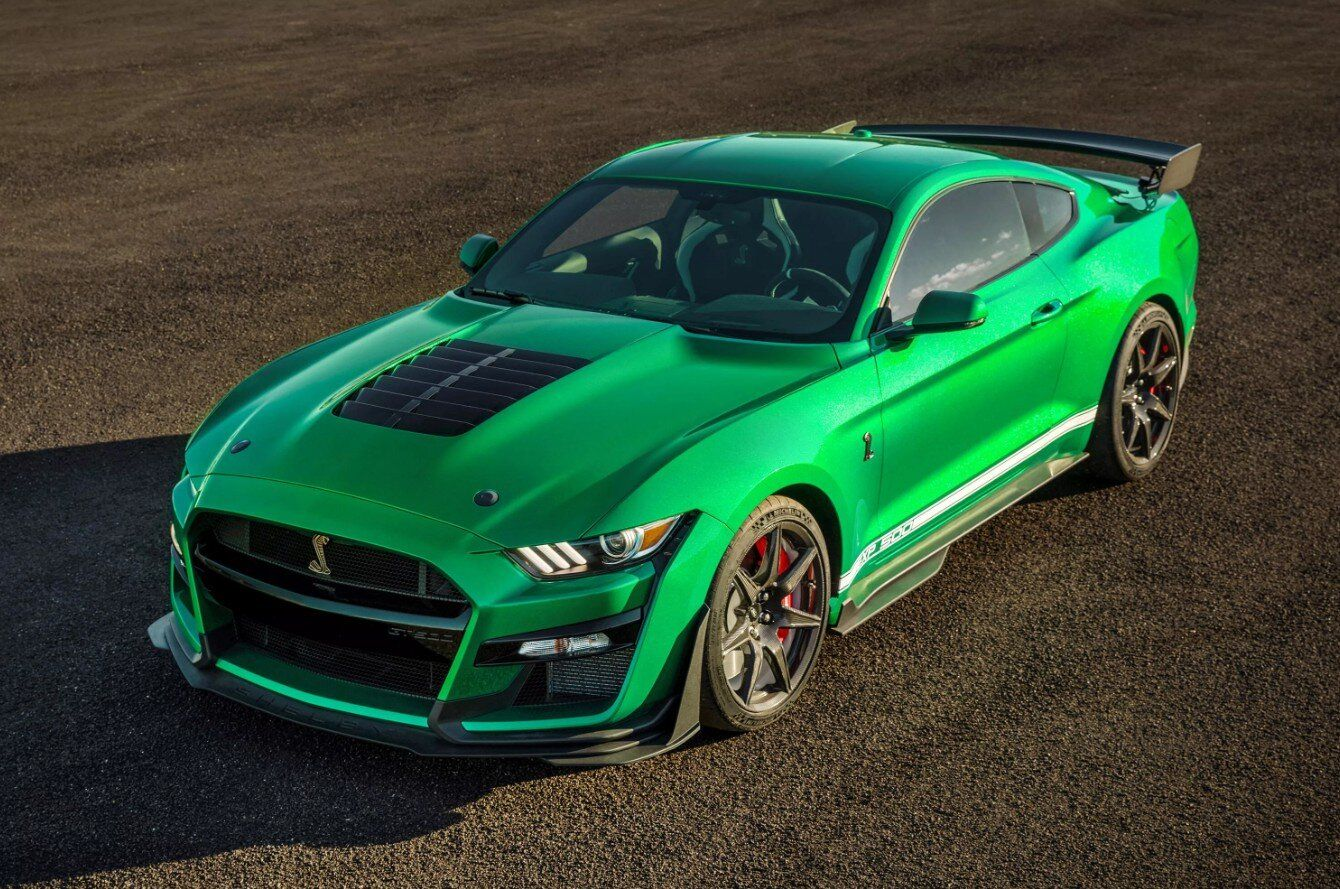 Here S The 2020 Ford Mustang Shelby Gt500 Vin 001 That Raised 1 1
