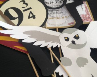 Harry Potter Birthday Party Photo Booth Props di ...