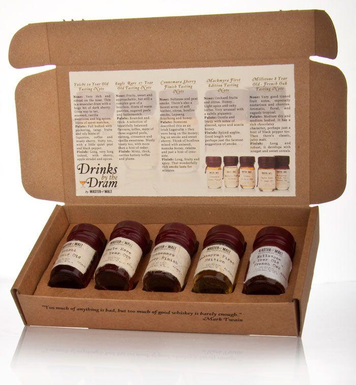 Master Of Malt Drinks By The Dram Sample Set Line Packaging Branding Design Innovation News
