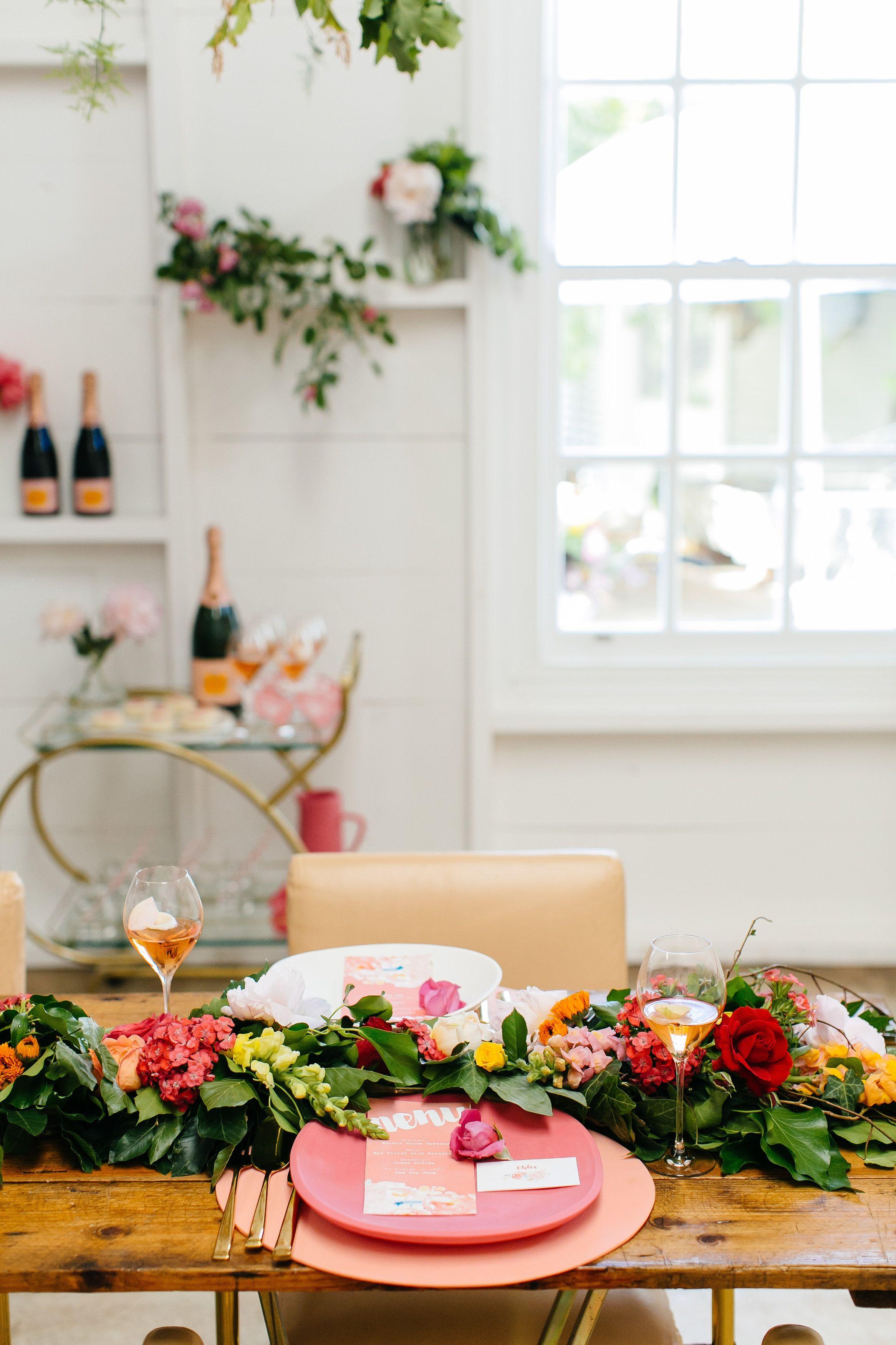 Flower Filled Wedding - LENZO | PARTY & EVENT DECOR IDEAS | Pinterest
