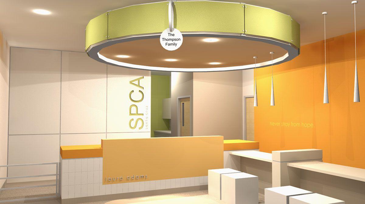 Spca Animal Shelter Lobby Hospital Design Spca Animal Shelter