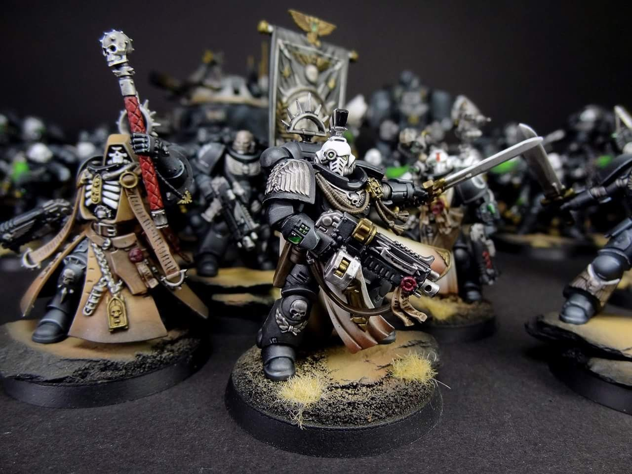 Pin by Jason C Olivero on BLACK TEMPLAR SPACE WOLVES and