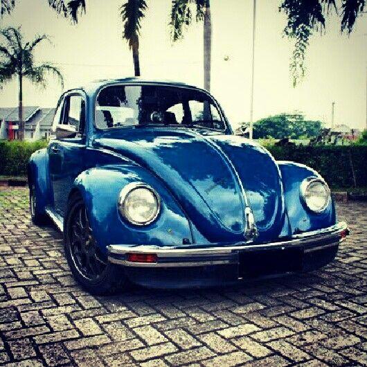 The Old Vw Beetle Modified Volkswagen Beetle Volkswagen