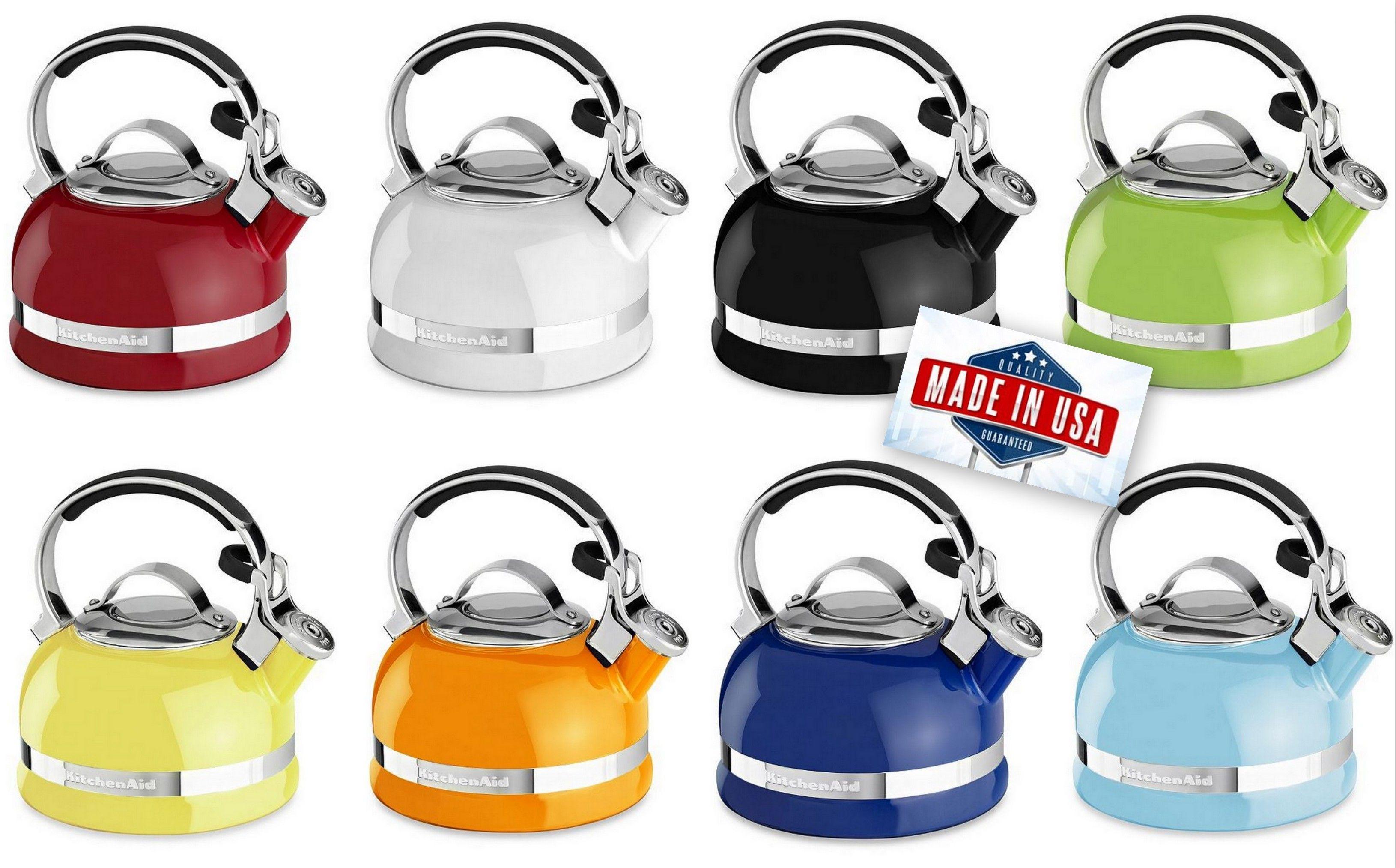 New Kitchenaid Tea Kettle 2 Quart Nowy Czajnik 1 9 Litra Http Madeinusa