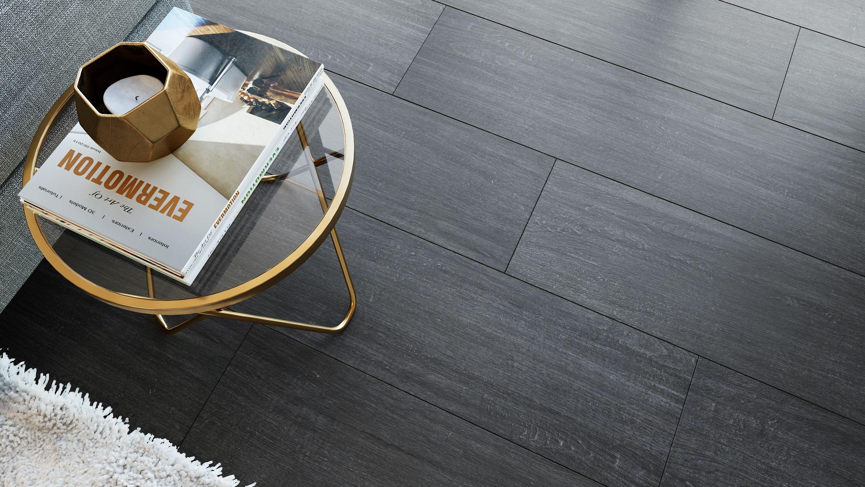 Madeira Black Matt Natural Wood Effect Floor Tile Wood Effect Floor Tiles Tile Floor Vinyl Wood Flooring
