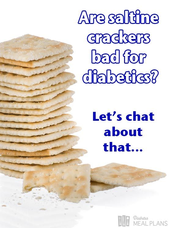 Are saltine crackers bad for diabetics? You might just be ...