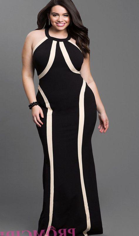 Plus size black formal dress - https://letsplus.eu/formal/plus-size ...