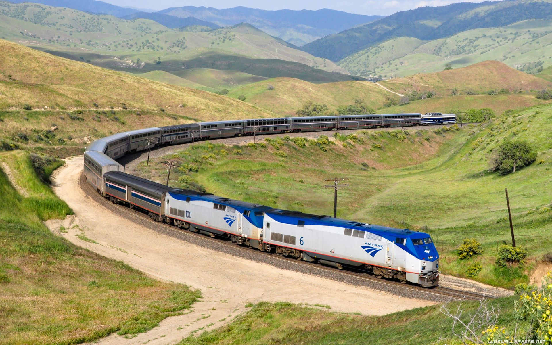amtrak train images amtrak wallpapers train railroad Trains