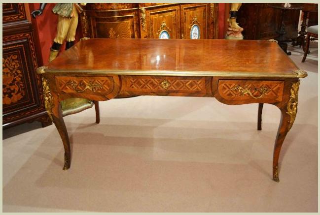 Antique French Writing Table Desk Bureau Plat C1900. $11,350.00 on  GoAntiques. A gorgeous antique - Antique French Writing Table Desk Bureau Plat C1900. $11,350.00 On