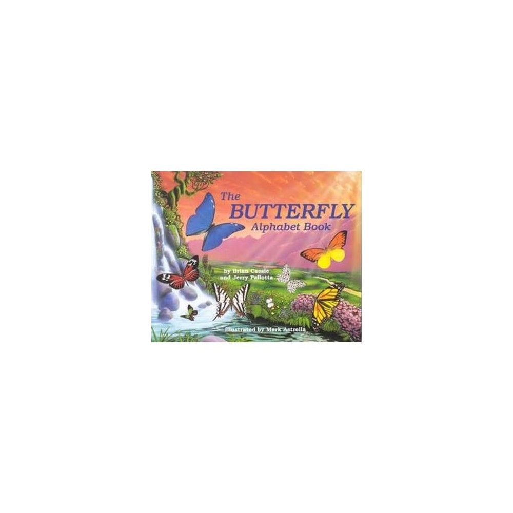 Butterfly Alphabet Book (Paperback) (Brian Cassie)