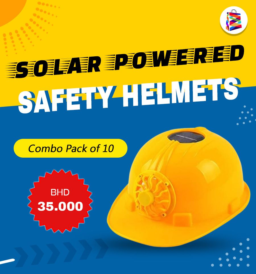 Combo Pack Of 10 Power Safety Helmet Outdoors Working Hard Hat