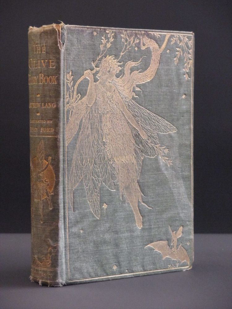 Andrew lang the olive fairy book 1907 1st edition children