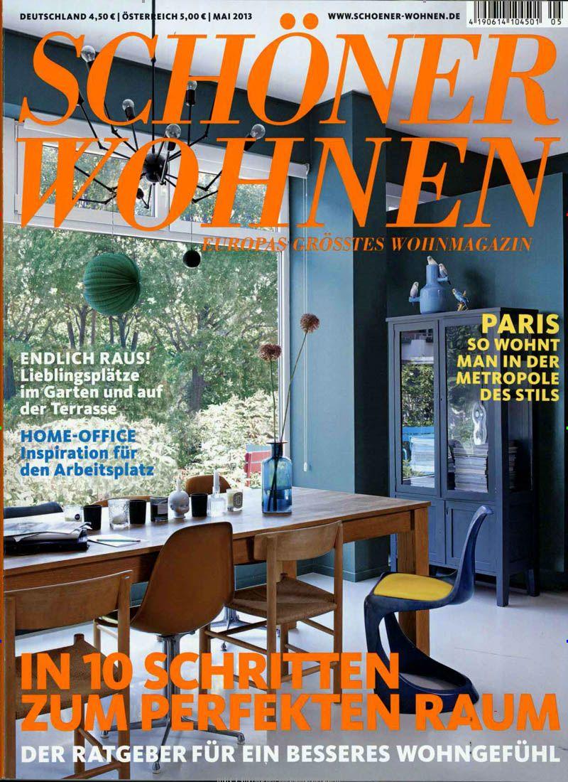 Schoener Wohnen Abo schöner wohnen heft 05 2013 cover schöner wohnen