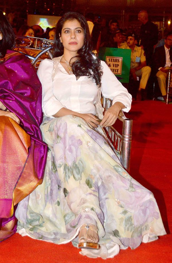 Kajol at the Umang Mumbai Police Show 2015. Bollywood