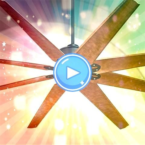 and effective this ceiling fan features a dark finish and damp rating   Large and effective this ceiling fan features a dark finish and damp rating  Large and effective t...