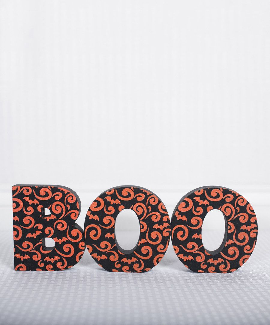 Look at this 'Boo' Cutout Block on #zulily today!