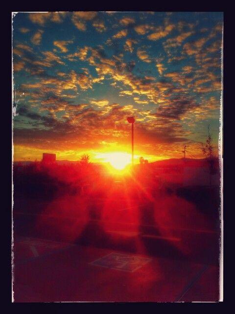 Sunset in Redding