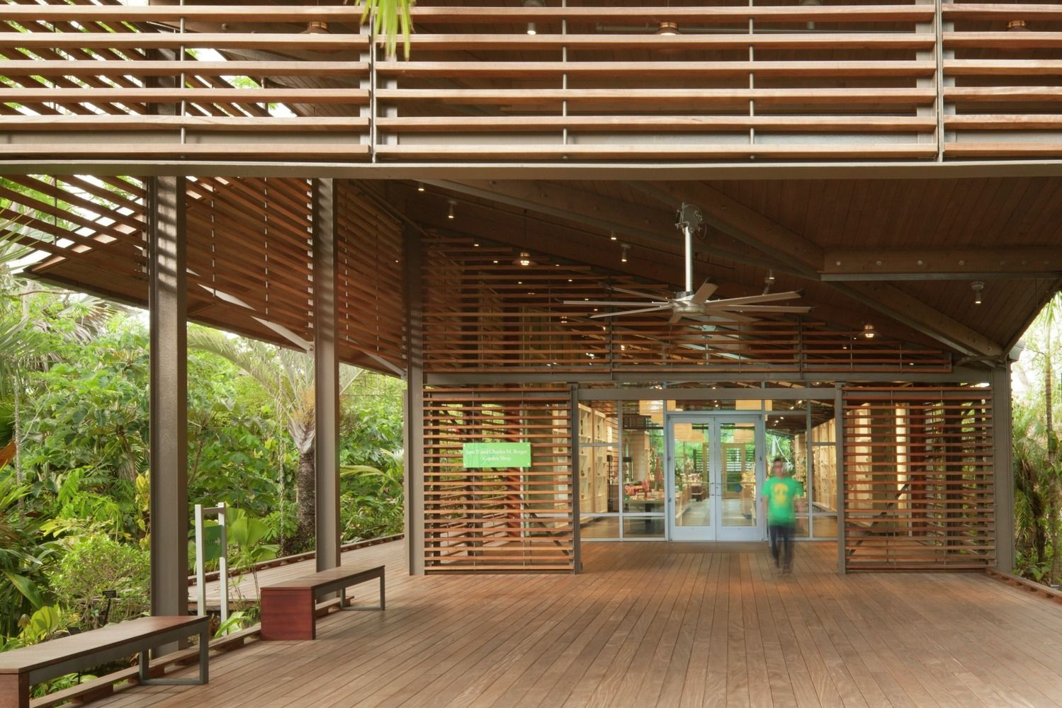 Gallery   Naples Botanical Garden Visitor Center / Lake|Flato Architects   4