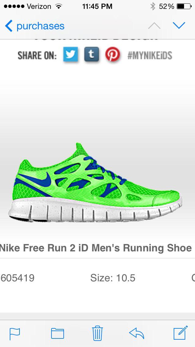 nike free run 2 45