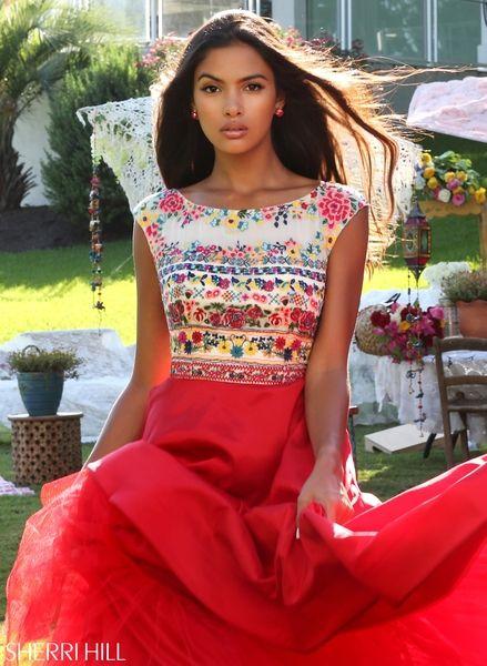 Sherri Hill 50335 | Prom Dresses | Pinterest | Hübsche kleider ...