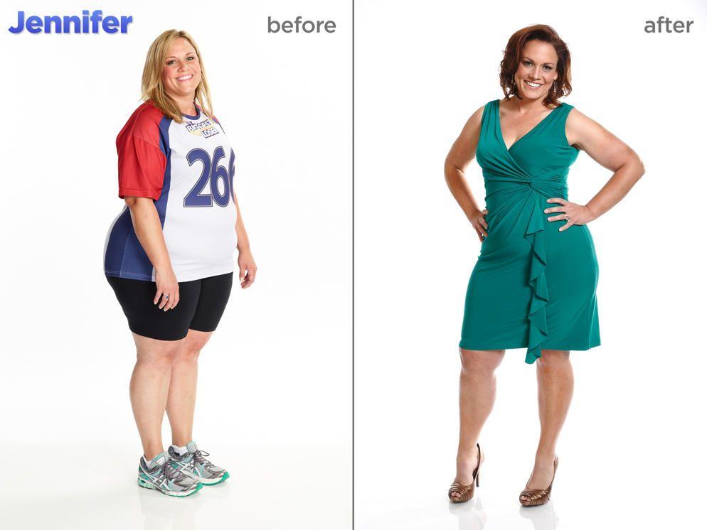The Biggest Loser Season 15 Makeovers Jennifer Messer Biggest