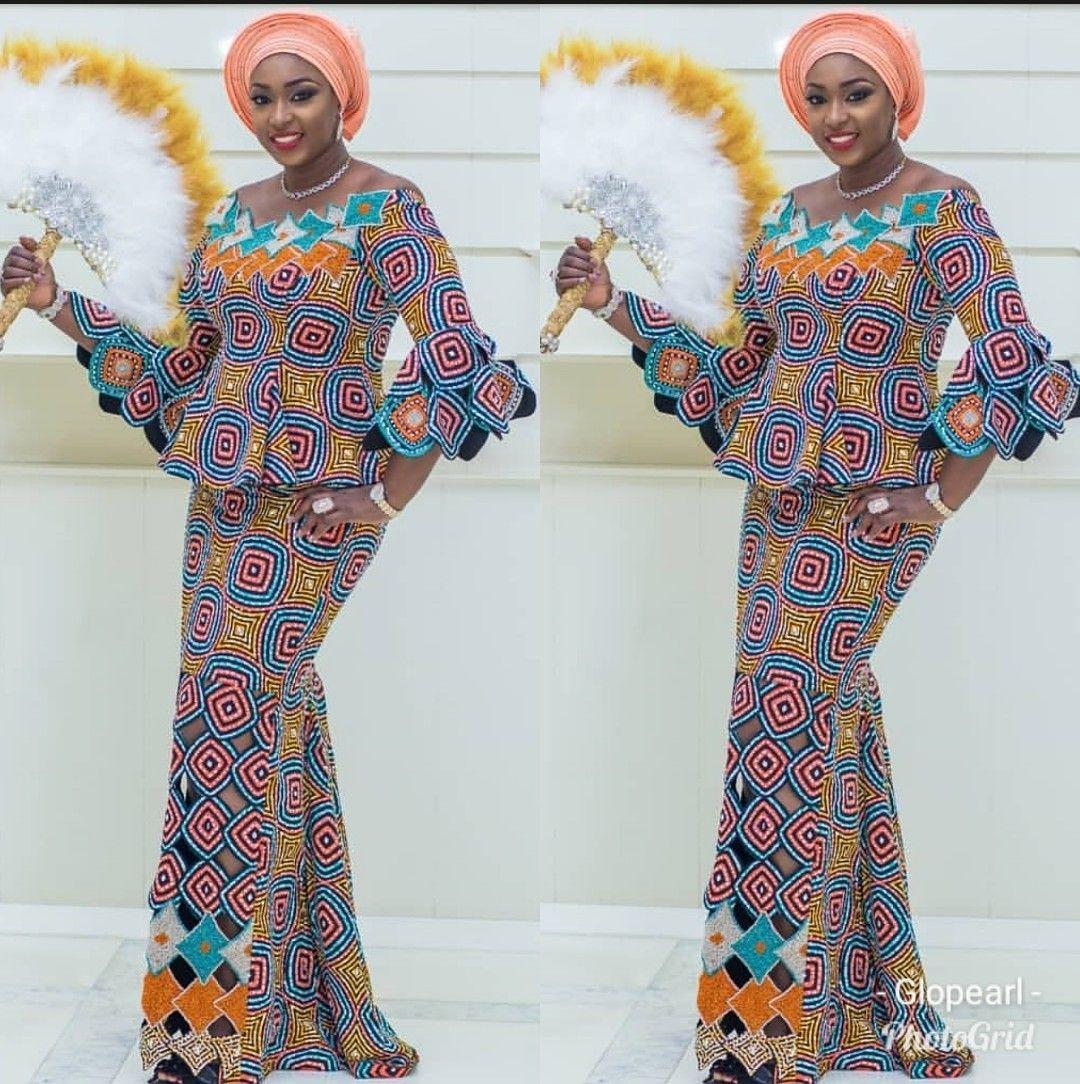 Tush Ankara Skirt Blouse Designs For Traditional Wedding Pretty 4 Classy Dress Outfits Skirt Blouse Design Blouse Designs