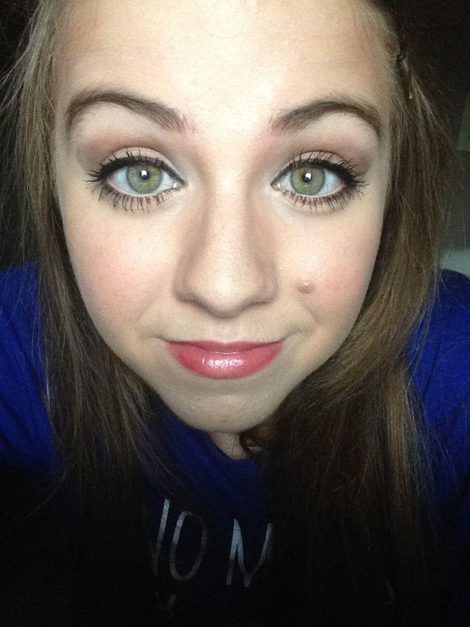 makeup for green eyes! :d | green eye makeup | makeup for