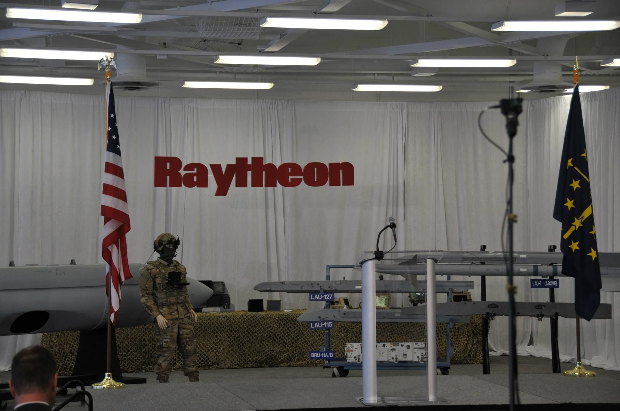 Visit to Raytheon Technical Services Co. in Indianapolis, Indiana